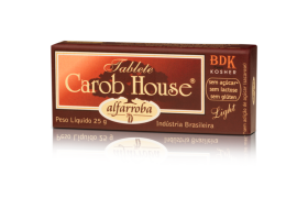 CAROB HOUSE ALFARROBA TABLET 25G