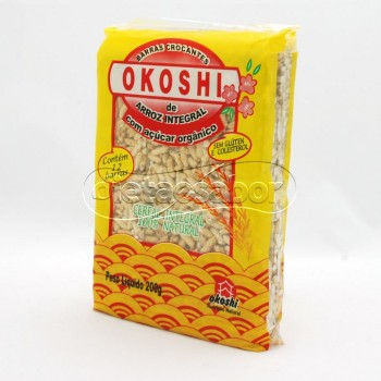 Barra de Arroz Integral Okoshi 200g