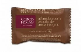 carob house biscoito de arroz 10 g